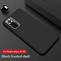 Чехол силиконовый для Xiaomi Redmi Note 10 Pro Black