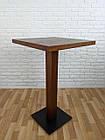 """Дерев'яний високий столик """"UNO-4"""" для кафе, фото 2"""