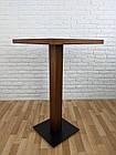 """Дерев'яний високий столик """"UNO-4"""" для кафе, фото 3"""
