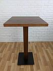 """Дерев'яний високий столик """"UNO-4"""" для кафе, фото 4"""