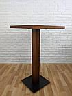 """Дерев'яний високий столик """"UNO-4"""" для кафе, фото 5"""