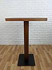 """Дерев'яний високий столик """"UNO-4"""" для кафе, фото 7"""