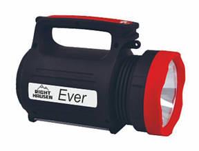 Ручний ліхтарик RIGHT HAUSEN EVER великий потужний акумуляторний 4400 mAh 5W+1.5 W