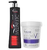 Ботекс для волос Vogue Bottoxx Platinum 3.0 набор
