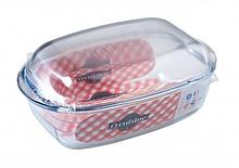 Гусятница Pyrex Cuisine 4,3л+2,2л жаропрочое стекло (466AС00)