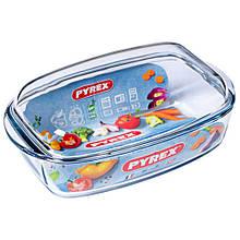Гусятниця Pyrex Essentials 6,5 л жаропрочое скло (466A000)