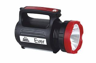 Ручний ліхтарик RIGHT HAUSEN EVER середній потужний акумуляторний 2300mAh 3W+1.5 W