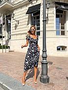 Платье женское длиною миди с красивым декольте, фото 6