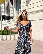 Платье женское длиною миди с красивым декольте, фото 3