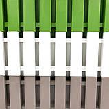 Горщик для квітів балконний Akasya 11 л сіро-коричневий, фото 7