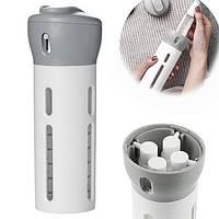Дорожний органайзер для жидкостей Smart Travel Bottle Set 4 в 1 Серый