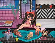 Домик для кукол ЛОЛ Оригинал L.O.L. Surprise OMG House с бассейном и куклой ЛОЛ Сюрприз ОМГ Uptown Girl 577270, фото 5