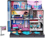 Домик для кукол ЛОЛ Оригинал L.O.L. Surprise OMG House с бассейном и куклой ЛОЛ Сюрприз ОМГ Uptown Girl 577270, фото 6