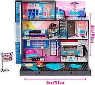 Домик для кукол ЛОЛ Оригинал L.O.L. Surprise OMG House с бассейном и куклой ЛОЛ Сюрприз ОМГ Uptown Girl 577270, фото 7