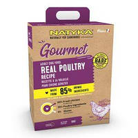 Natyka (Натика) Gourmet Adult Poultry - гіпоалергенний полувлажный корм для собак з птахом 3кг