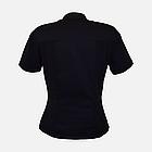 Медичний топ блуза жіноча чорна, фото 5