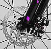 """Детский велосипед 20"""" Corso магниевый «Speedline» MG-90363 розовый, фото 6"""