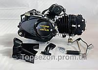 Двигатель Альфа Дельта 125сс Vip механика