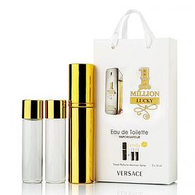 Мини-парфюм с феромонами мужской Paco Rabanne 1 Million Lucky 3х15 мл