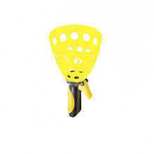 Игра Ловушка M 2019 ракетка 1 шарики 2 шт (Желтый)