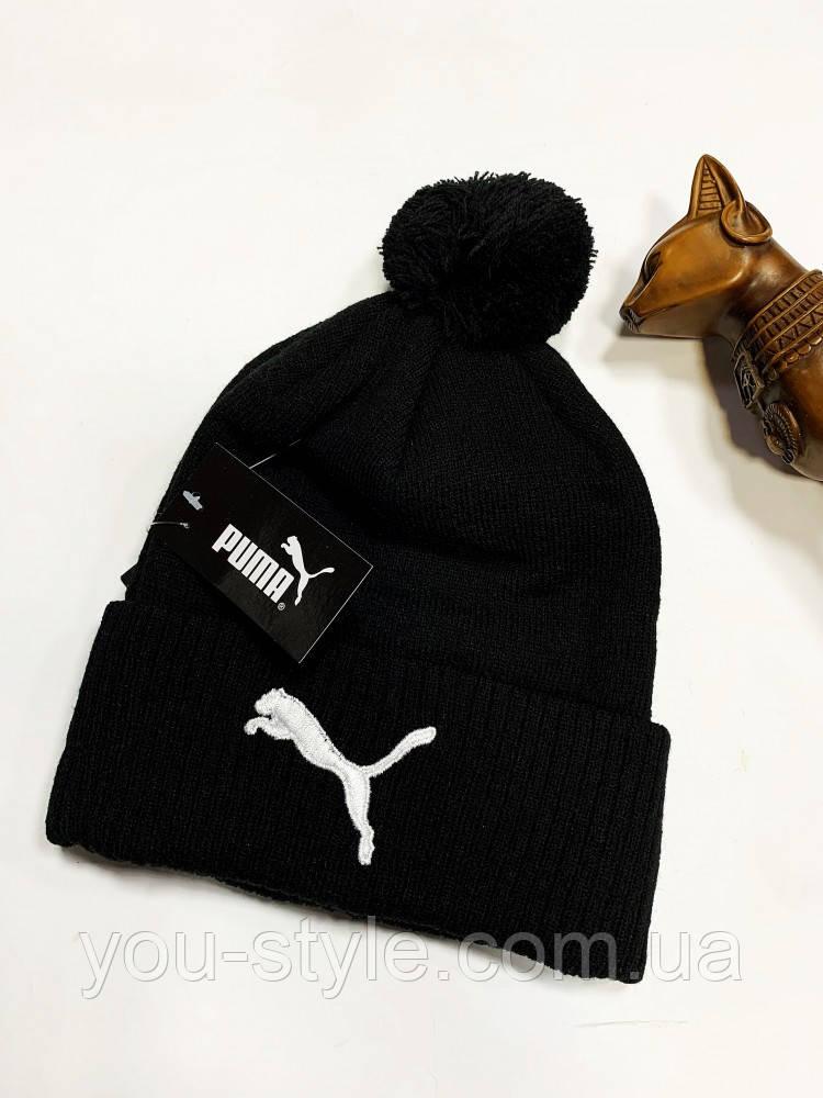 Шапка Puma classic black