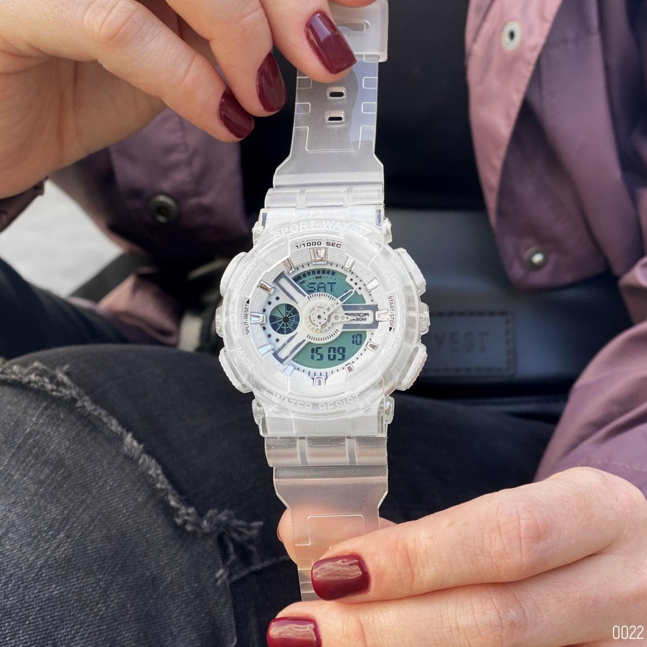 Унисекс электронные часы Sanda 892