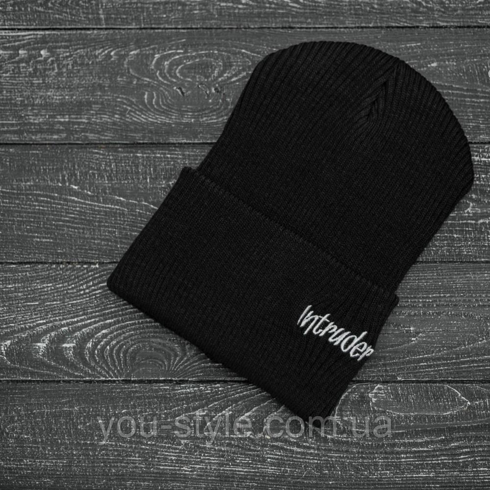 "Шапка "" Intruder "" черная small logo"