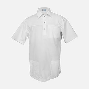 Медичний топ блуза чоловіча біла