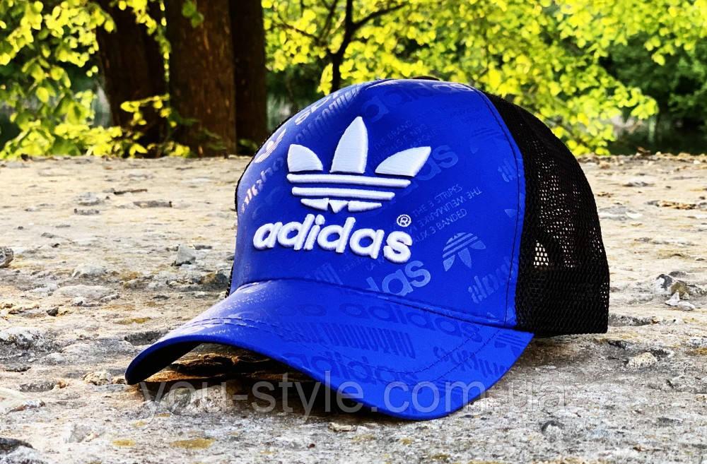 Кепка Adidas blue print