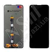 Дисплей MOTOROLA G9 Power (XT2091) (2020) з чорним тачскріном