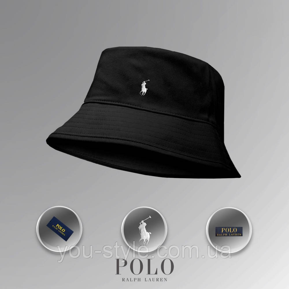 Панама Polo Ralph Lauren (Чёрная)