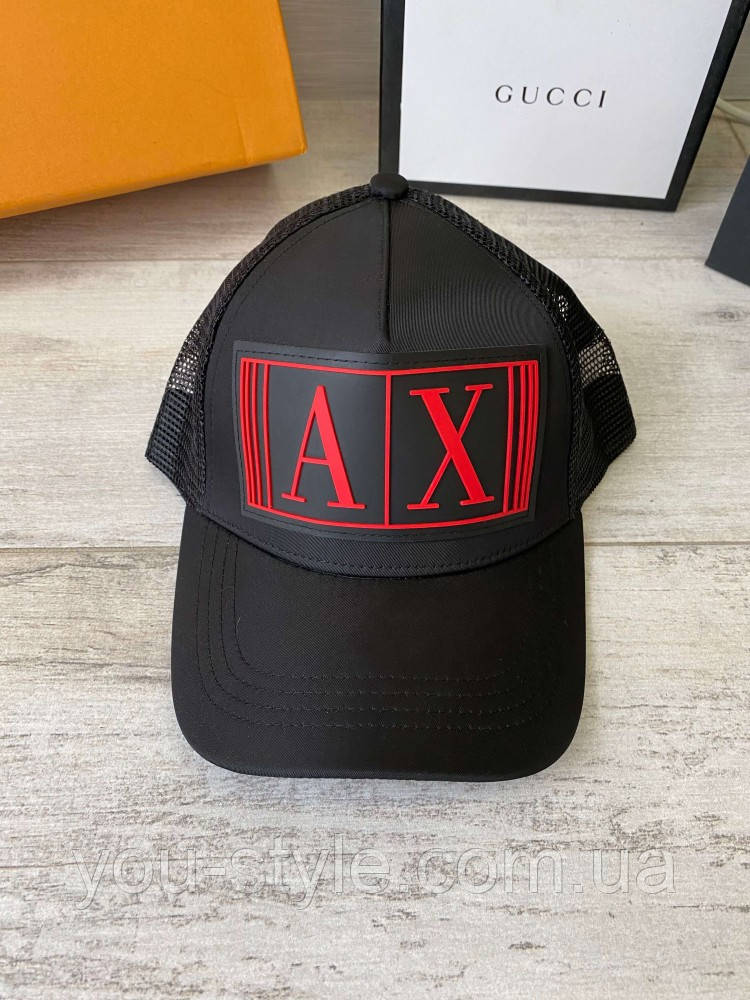 Кепка Armani Baseball Cap With Embossed Logo Red