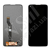 Дисплей MOTOROLA G9 Plus (XT2087) (2020) з чорним тачскріном