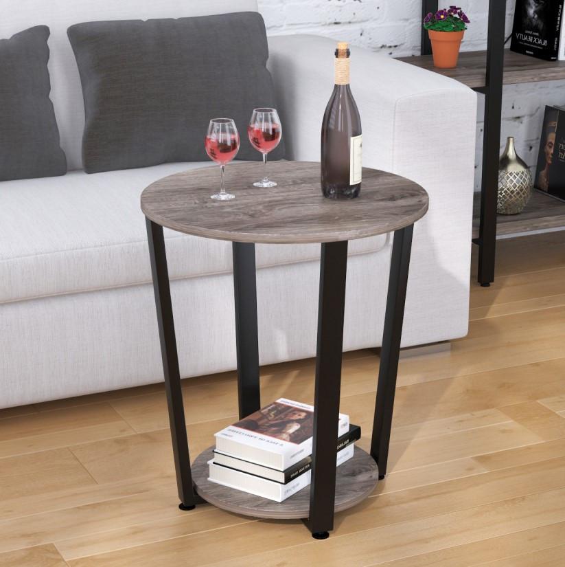 Журнальный столик Loft Design D-50 Дуб Палена