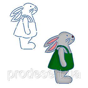 Трафарет Кролик 1 11*6.6 см (TR-1)