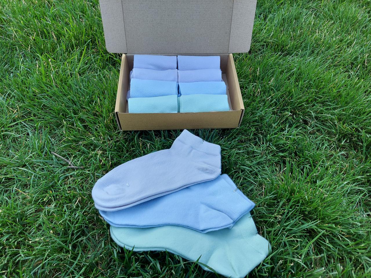 Класика набір жіночих шкарпеток. Шкарпетки в коробочці 8 пар