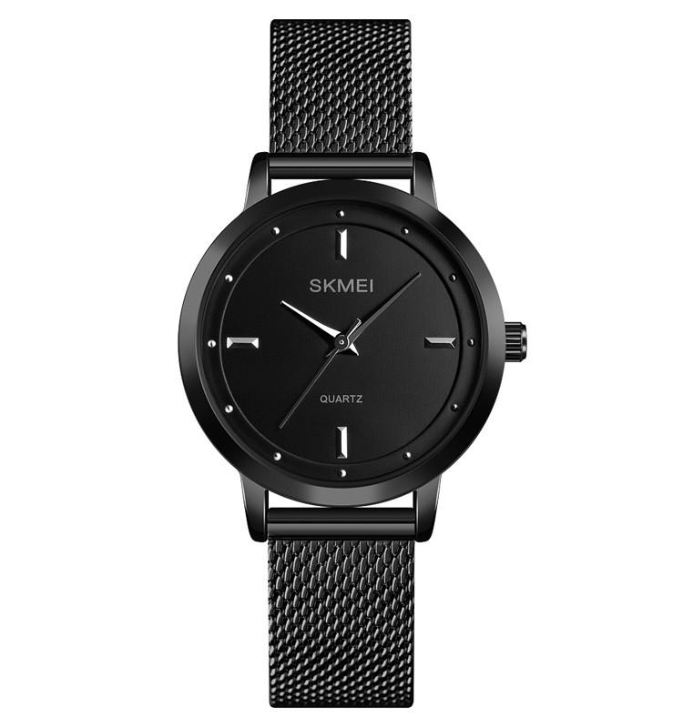 Skmei 1528 чорні жіночі годинники