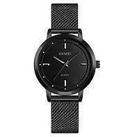 Skmei 1528 чорні жіночі годинники, фото 1