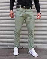 Зелені штани чінос чоловічі | 100% бавовна, фото 1