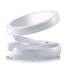 Зеркало для макияжа My Fold Jin Ge JG-988 с подсветкой, фото 2