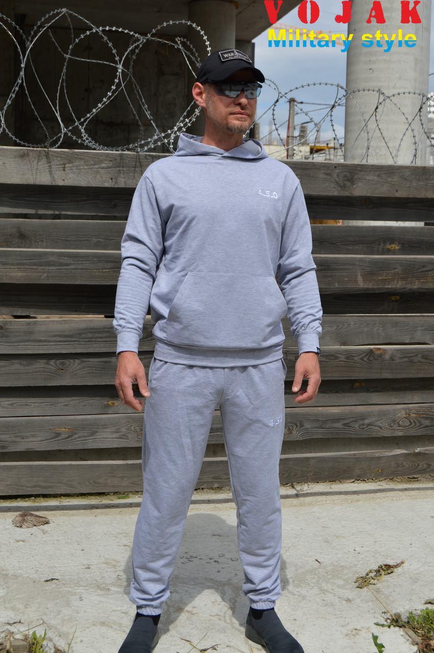 Мужской летний спортивный костюм 4.5.0 (Серый)