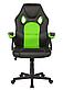 Крісло Офісне Комп'ютерне Геймерське SEAT Чорно - Зелене Механізм Гойдання, фото 2