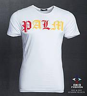 Чоловіча трикотажна футболка Palm розмір норма 44-50, колір уточнюйте при замовленні