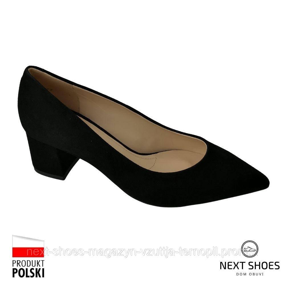 Туфлі жіночі чорні Solo Femme Польща демісезонні арт 48901-01-020 / 000-04-00 модель 4964