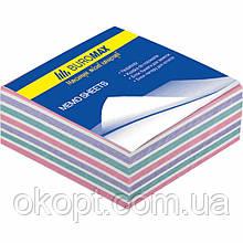 Бумага для заметок Buromax Zebra 80х80x30мм, glued (BM.2252)