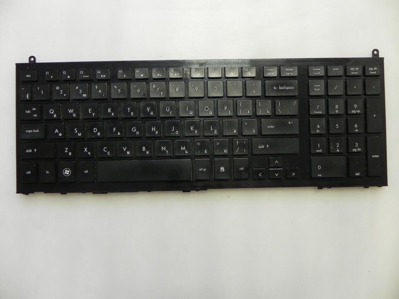 Клавиатура оригинальная с рамкой HP Probook 4510S, 4710S, 4750S, 4510S, 4515 бу