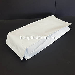 Гассет-пакет с центральным швом белый 500г 90х320х30, фото 2