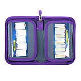 Пенал школьный без наполнения ST.RIGHT PC3 Sky Unicorns Фиолетовый, фото 2