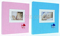Фотоальбом TRAD. 29x32/60 розовый/голубой  DBCL30 HONEY