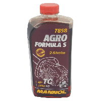 Масло 2T MANNOL AGRO 7858 (Червоне)